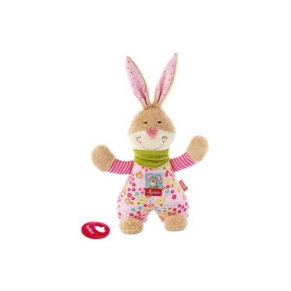 Купить Мягкие игрушки, Мягкая игрушка sigikid музыкальный Заяц 23 см (40109SK)