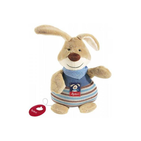 Купить Мягкие игрушки, Мягкая игрушка sigikid музыкальный Кролик 25 см (47894SK)