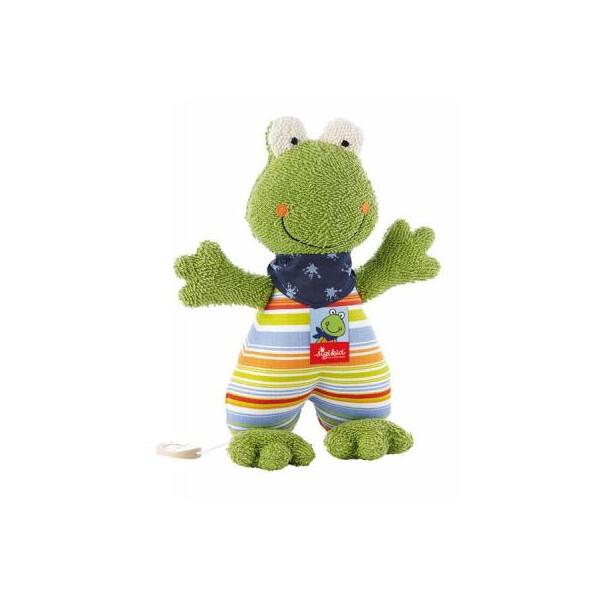 Купить Мягкие игрушки, Мягкая игрушка sigikid музыкальная Лягушка 23 см (48895SK)