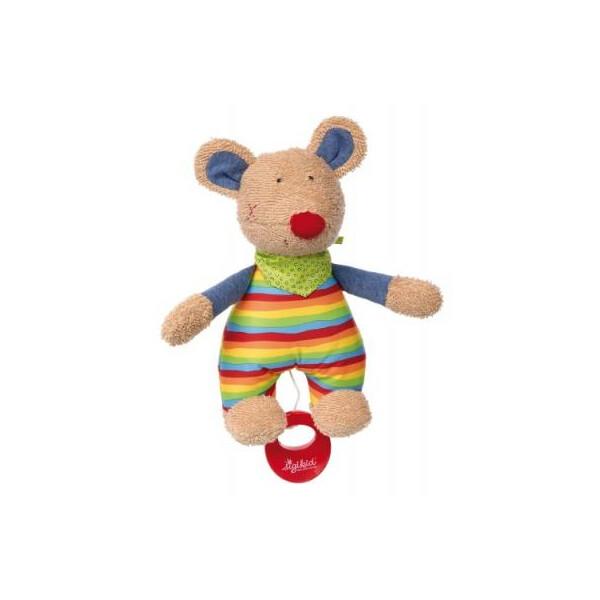 Купить Мягкие игрушки, Мягкая игрушка sigikid музыкальная Мышка 23 см (41535SK)