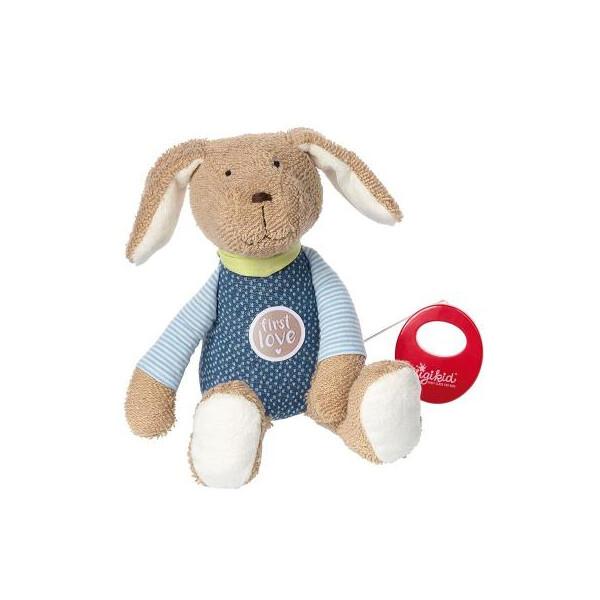 Купить Мягкие игрушки, Мягкая игрушка sigikid музыкальная Собачка 26 см (38791SK)