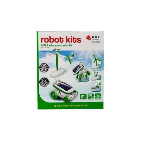 Купить Конструкторы, Конструктор Same Toy Робот-конструктор Солнцебот 6 в 1 на солнечной батарее (2011UT)