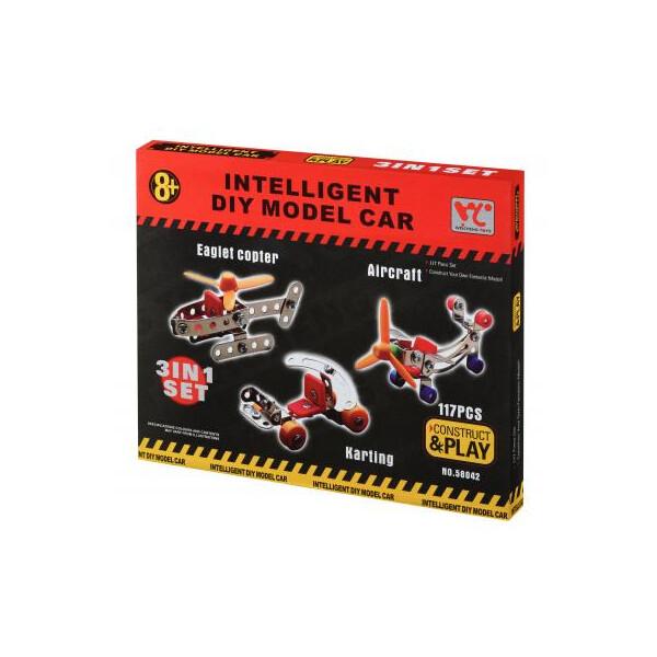 Купить Конструкторы, Конструктор Same Toy Inteligent DIY Model Car 3в1 117 эл. (58042Ut)
