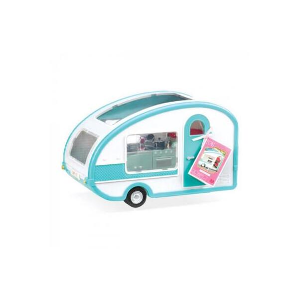 Купить Куклы, наборы для кукол, Аксессуар к кукле LORI Кемпер на колесах (LO37001)