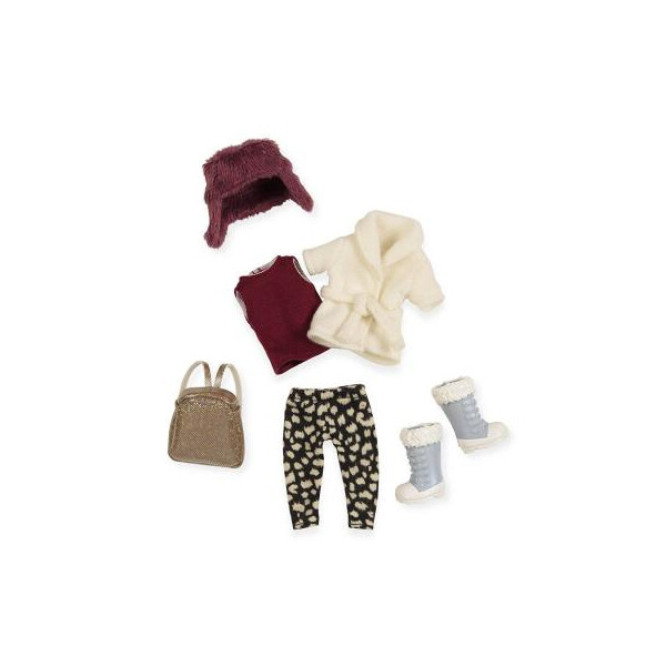 Купить Куклы, наборы для кукол, Аксессуар к кукле LORI Теплый жакет с шапкой (LO30006Z)