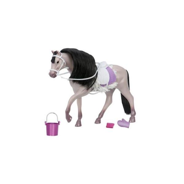 Купить Куклы, наборы для кукол, Аксессуар к кукле LORI Серая Андалузкая лошадь (LO38001Z)