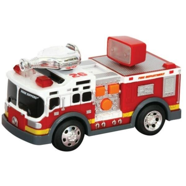 Купить Машинки, техника игровая, Спецтехника Toy State Пожарная машина со светом и звуком 13 см (34513)