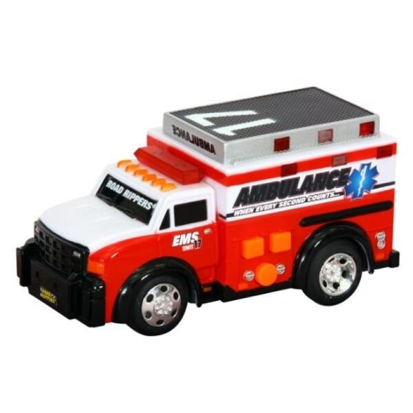 Купить Машинки, техника игровая, Спецтехника Toy State Скорая помощь со светом и звуком 13 см (34515)