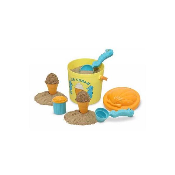 Купить Игровые наборы, Игровой набор Melissa&Doug Приготовление песочного мороженого (MD6433)