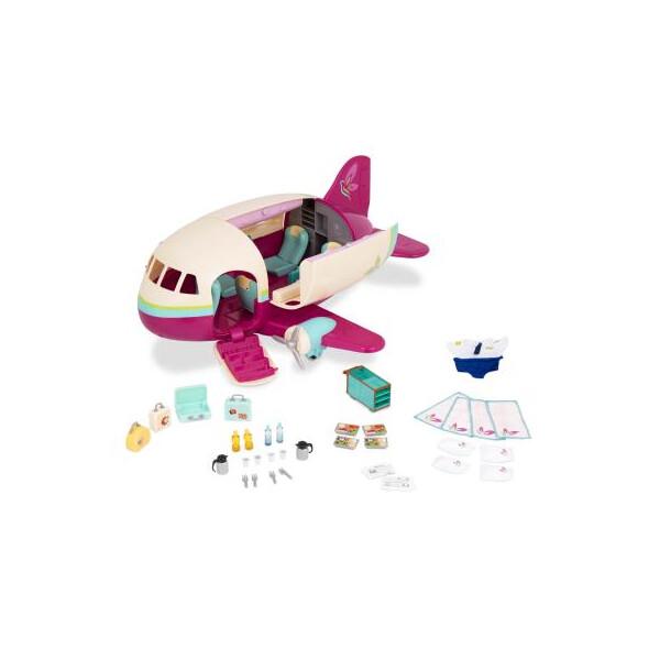 Купить Игровые наборы, Игровой набор Li'l Woodzeez Самолет (61533Z), Lil Woodzeez