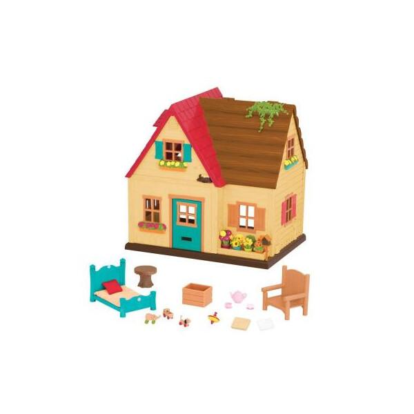Купить Игровые наборы, Игровой набор Li'l Woodzeez Загородный дом (6325Z), Lil Woodzeez