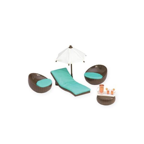 Купить Игровые наборы, Игровой набор LORI Мебель для террасы (LO37005Z)