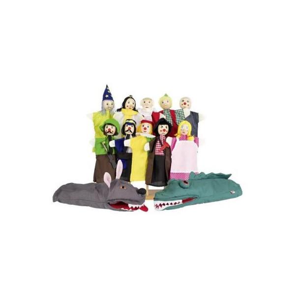 Купить Игровые наборы, Игровой набор Goki Набор кукол-перчаток (SO350)