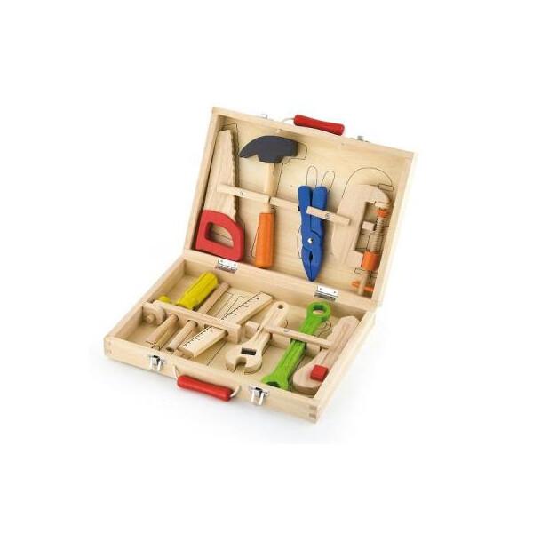 Купить Игровые наборы, Игровой набор Viga Toys Набор инструментов 10 шт (50387)