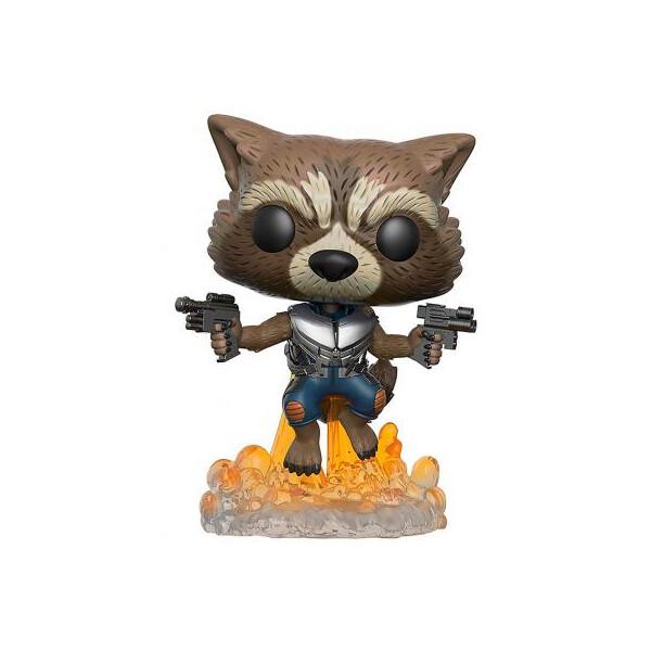 Купить Фигурки игровые, персонажи мультфильмов, Фигурка Funko Pop Енот Ракета серии Стражи Галактики 9.6 см (13270-PX-1RY)