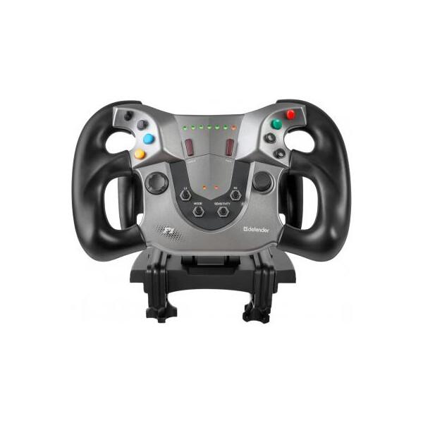 Купить Игровые манипуляторы, Руль Defender FORSAGE SPORT USB-PS3 (64372)