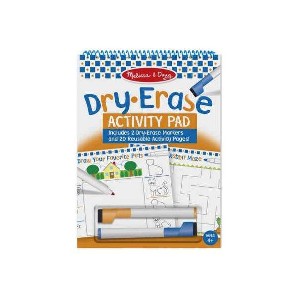Купить Наборы для творчества и рукоделия, Набор для творчества Melissa&Doug Набор с сухостираемыми маркерами (MD2436)