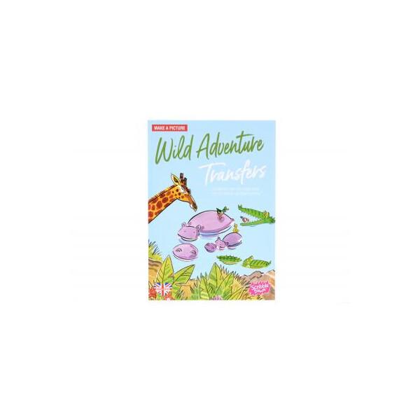 Купить Наборы для творчества и рукоделия, Набор для творчества Scribble down Переводные наклейки Дикие приключения (SD/03)