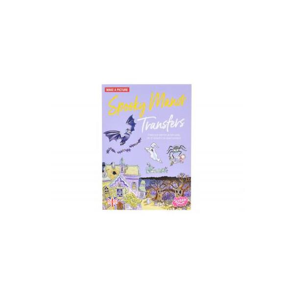 Купить Наборы для творчества и рукоделия, Набор для творчества Scribble down Переводные наклейки Привидения (SD/13)