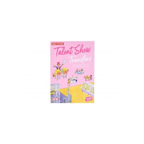 Купить Наборы для творчества и рукоделия, Набор для творчества Scribble down Переводные наклейки Шоу талантов (SD/18)