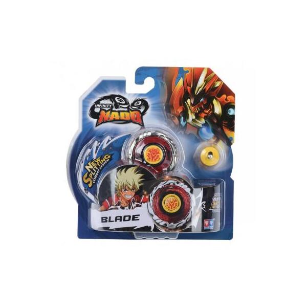 Купить Настольные игры, Волчок AULDEY Infinity Nado Стандарт Fiery Blade с устройством запуска (YW624302)