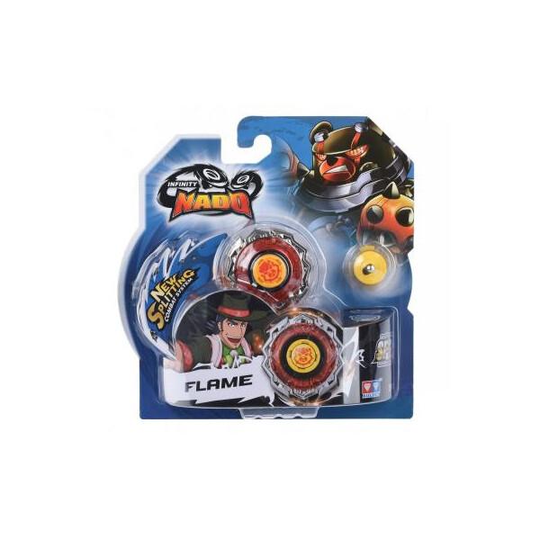 Купить Настольные игры, Волчок AULDEY Infinity Nado Стандарт Blast Flame с устройством запуска (YW624305)
