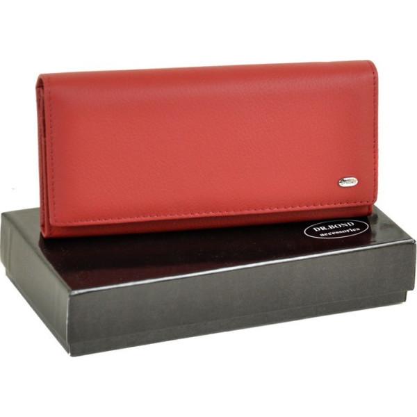 79a5fb49a5cc Женский кожаный кошелек Rainbow от dr.Bond WRS-7 violet - купить в ...