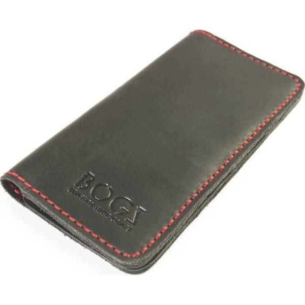 558b2f0cd3ae Женское коричневое портмоне ручной работы из кожи BOGZ Madlen ...