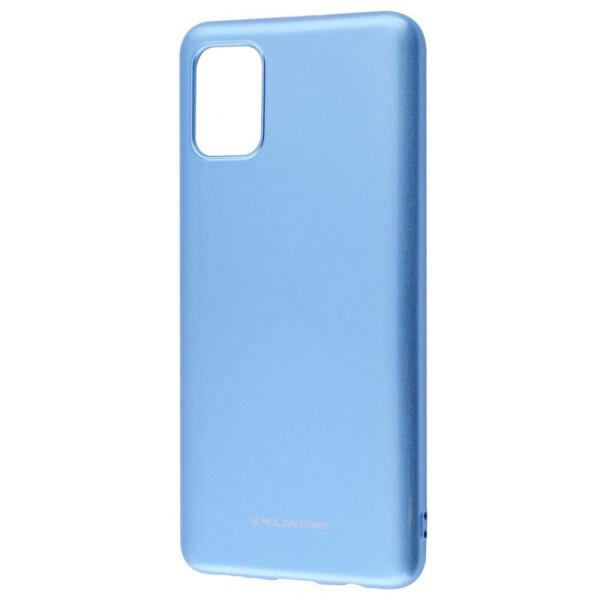 Купить Чехлы для телефонов, Чехол-накладка Molan Cano Glossy Jelly Case Samsung Galaxy A51 (A515) blue