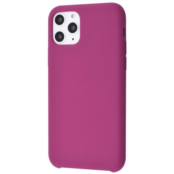 Купить Чехлы для телефонов, Чехол-накладка Silicone Case Without Logo iPhone 11 Pro pomegranate, ArtStudio