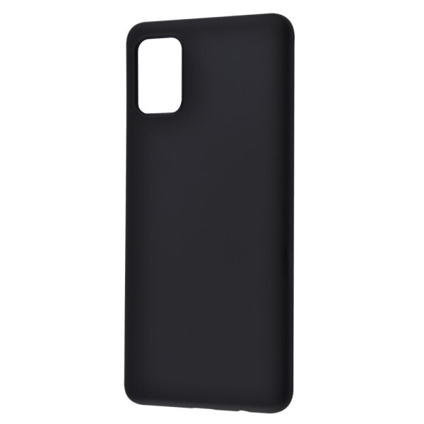 Купить Чехлы для телефонов, Чехол-накладка WAVE Colorful Case (TPU) Samsung Galaxy A51 (A515) black