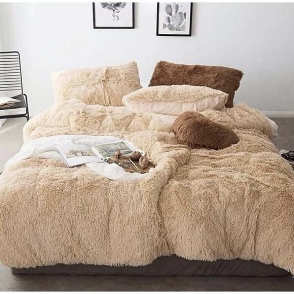 Купить Одеяла, Всесезонное Одеяло Grass Травка Мех(плюшевое) 210X230см Бежевый