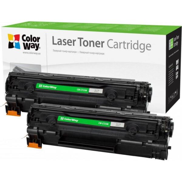 Купить Картриджи, Картридж CW (CW-C725FM) Canon LBP-6000/6020/MF3010 Black (аналог CE285A/Canon 725) Dual Pack
