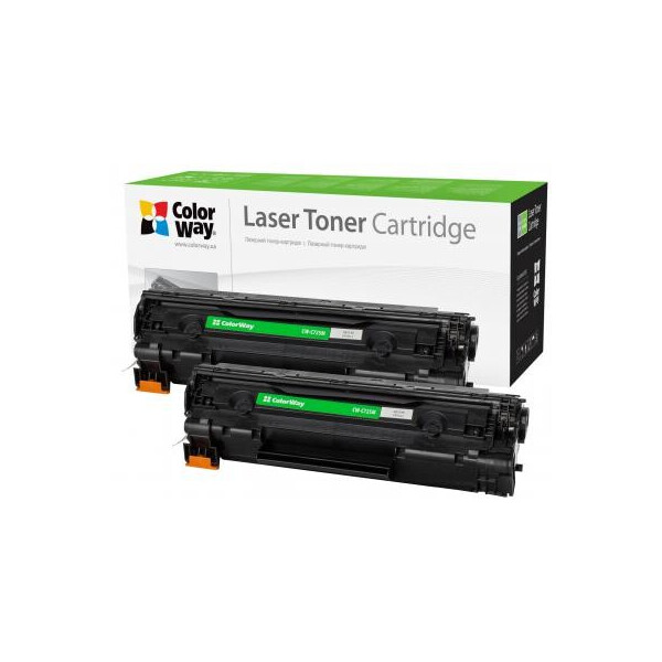 Купить Картриджи, ColorWay для CANON 725 LBP6000/MF3010 Universal DUAL PACK (CW-C725FM)