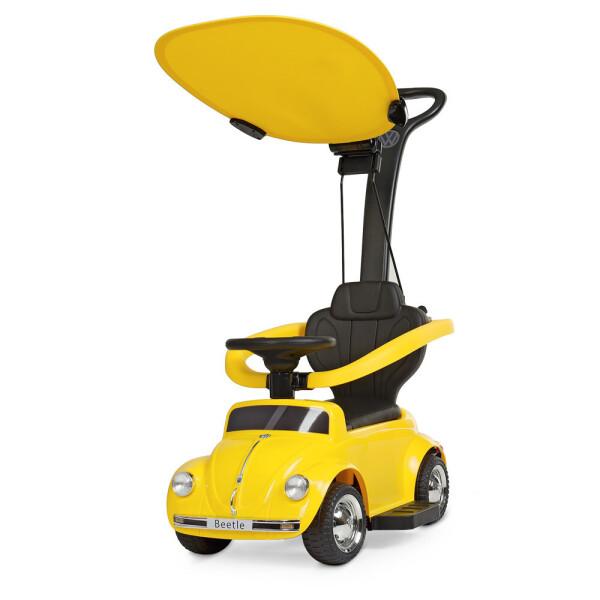Купить Детские электро- и веломобили, Электромобиль Машина JQ618L-6 желтый BAMBI