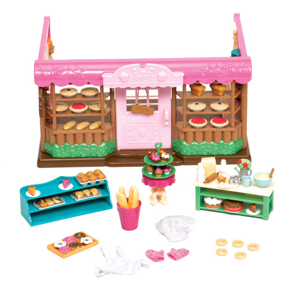 Купить Игровые наборы, Игровой набор Li`l Woodzeez Пекарня 6088Z, Lil Woodzeez