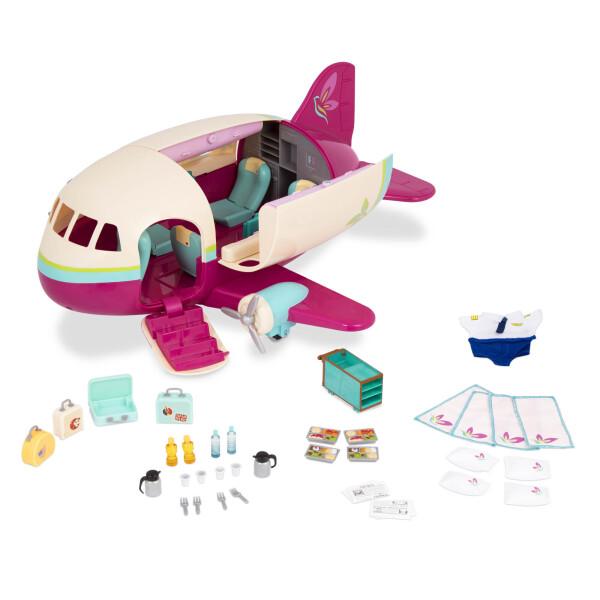 Купить Игровые наборы, Игровой набор Li`l Woodzeez Самолет 61533Z, Lil Woodzeez