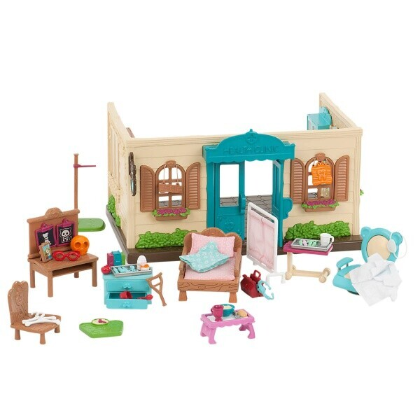 Купить Игровые наборы, Игровой набор Li`l Woodzeez Поликлиника 6148Z, Lil Woodzeez