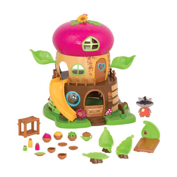 Купить Игровые наборы, Игровой набор Li'l Woodzeez Дом Bobblehead 64701Z, Lil Woodzeez