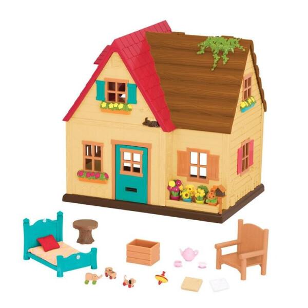 Купить Игровые наборы, Игровой набор Li'l Woodzeez Загородный дом 6325Z, Lil Woodzeez