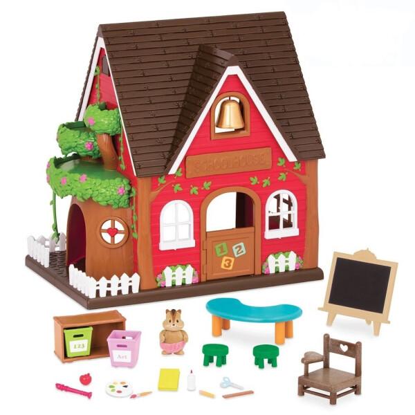 Купить Игровые наборы, Игровой набор Li'l Woodzeez Школа 6326Z, Lil Woodzeez