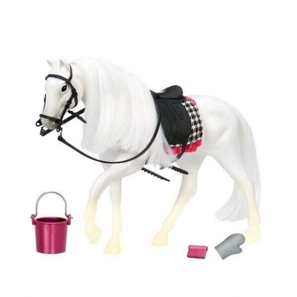 Купить Фигурки игровые, персонажи мультфильмов, Игровая фигура LORI Белая лошадь Камарилло LO38000Z