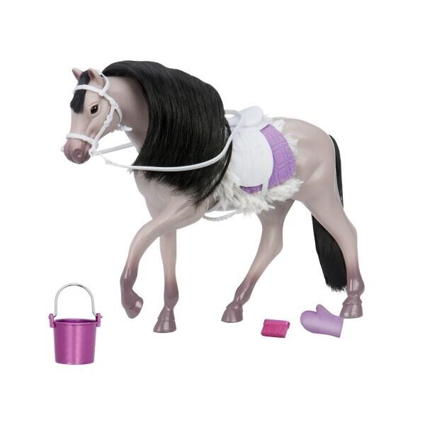 Купить Фигурки игровые, персонажи мультфильмов, Игровая фигура LORI Серая Андалузкая лошадь LO38001Z