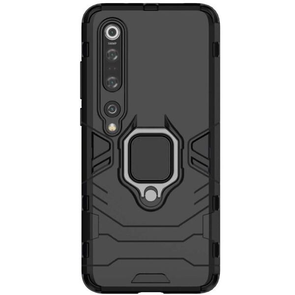 Купить Чехлы для телефонов, Ударопрочный чехол Transformer Ring for Magnet для Xiaomi Mi 10 Pro (Черный / Soul Black) (904398), Epik