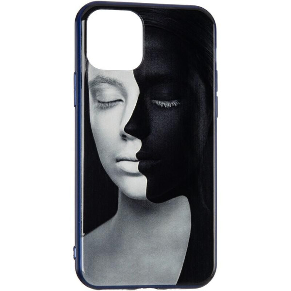 Купить Чехлы для телефонов, Чехол накладка TPU Gelius QR для iPhone 11 Face to face