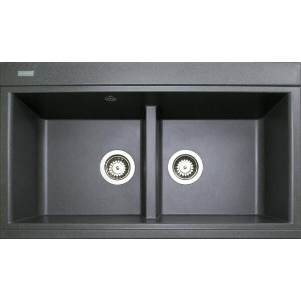 Купить Кухонные мойки, Кухонная мойка гранитная Adamant SIMILAR сірий-04