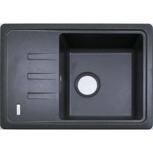 Купить Кухонные мойки, Кухонная мойка гранитная Adamant SLIM сірий-04