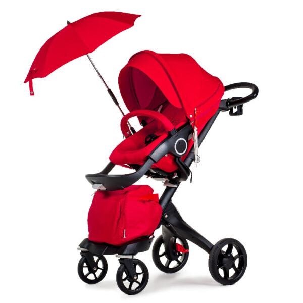 Купить Коляски, Универсальная коляска 2в1 DSLAND V8 Black-Red красный