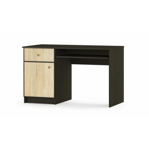 Купить Компьютерные столы, Мебель Сервис Фантазия 1200 120, 3х74, 4х59, 8 венге темноедуб самоа, Мебель-Сервис