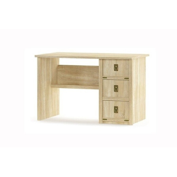 Купить Компьютерные столы, Мебель-Сервис Валенсия 3Ш 120х76х68 дуб самоа